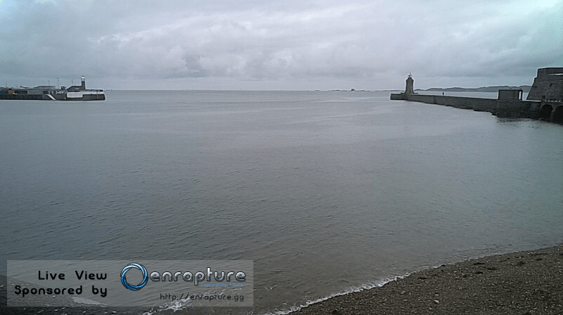 Guernsey harbour webcam back online