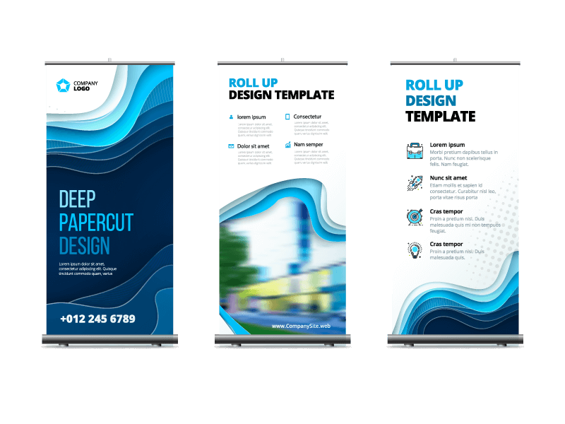 Marketing Services - Pull-up Roller Banners